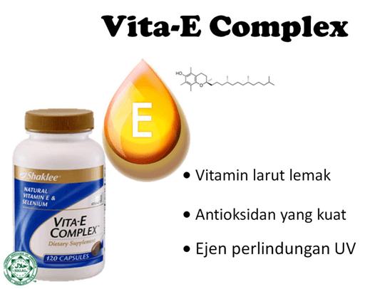 vitamin e set produk kecantikan shaklee