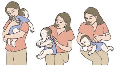 tips sendawakan bayi dengan betul