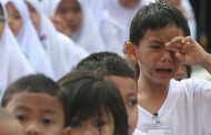 Anak menangis di tadika.. Cuaknya seorang ibu