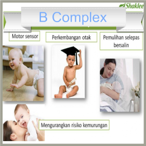 b complex dengan asid folik