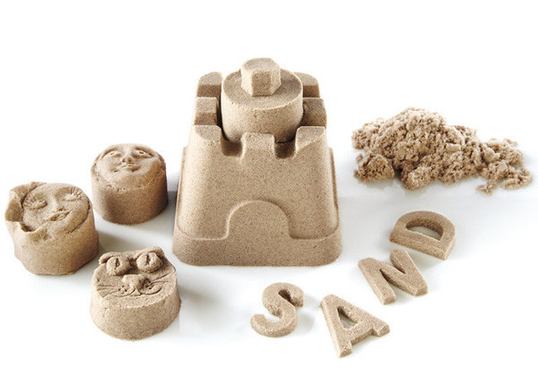 mainan pasir di rumah
