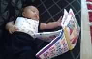 Bayi sudah tahu membaca. Tidak Percaya?
