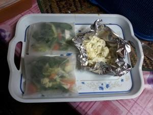 simpan sayur dalam peti ais