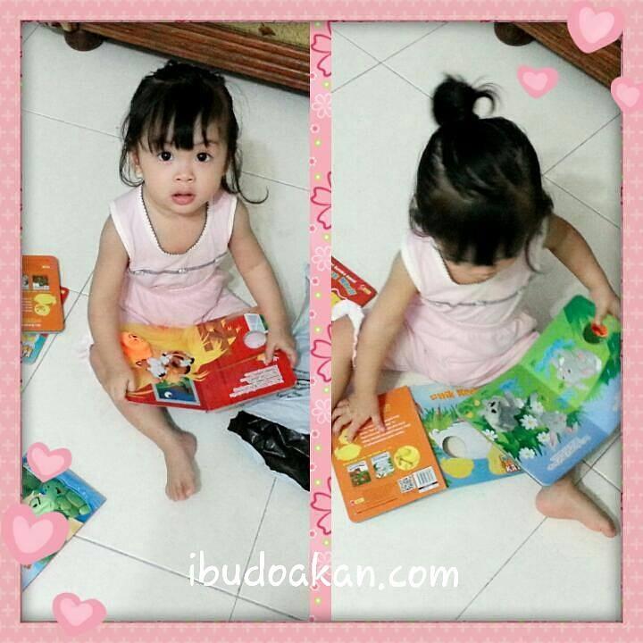 buku boneka untuk anak setahun