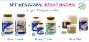 pil selamat untuk kurus